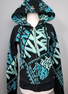 Aritzia TNA Graphic Full Zip Hoodie